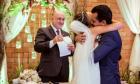Concurso cultural premia noivos com festa de casamento completa