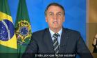 Bolsonaro contraria autoridades de saúde e manda encerrar isolamento que previne a Covid-19