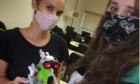 Alunas da UEMS criam robô que ajuda na prevenção do coronavírus
