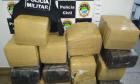 Traficante é preso em operação e perde 317 quilos de maconha que iriam para SC