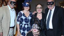 Coutinho e Cida Couto , Maria Elizabeth Marcondes, Eduardo Marcondes e Neuza