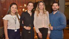 Carla, Andressa, Gabriela e Pineca