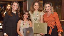 Ely Oliveira, Louise Torres, Elaine Messias e Evânia Ribeiro