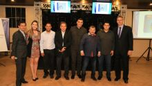 Ben Hur, Bruna, Alcides, Clovis, Thiago, Cleidson, Carlos e Arnol.