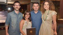 Pedro, Louise, Pineca e Elaine