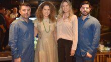 Pineca, Elaine, Gabriela e Victor