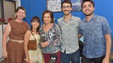 Ana Paula Ostapenko, Louise Torres, Adiles do A. Torres, Pedro Rocha e Wilson Duarte