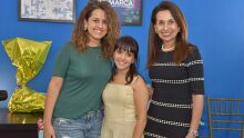Elaine Messias, Louise Torres e Ely Oliveira