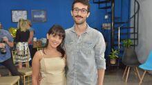 Louise Torres e Pedro Rocha