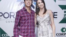 Junior Gandine e Mariel Guerra