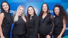 Caroline Silva de Araujo Ferreira, Tatiane Zimmermann, Julia Izabela Pinheiro Cabreira, Patricia Romero de Paula, Giovanna Passos da Silva