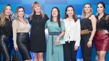 Mara Goulart, Evânia Ribeiro, Evanilda de Souza, Cleuza Zornita, Ely Oliveira, Acássia Butarello e Ane Nicolle