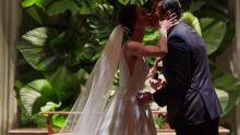 Os noivos Fernanda e Cae