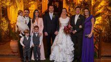 Marcelo Migliavacca, Mariah Migliavacca, Cae e Fernanda, Eduardo Paiva, Juliana Feola e os pajens
