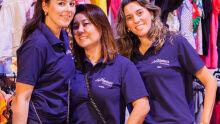 Kamila Dauzacker, Andrea Funada e ELilian Junqueira, responsáveis pelo setor infantil
