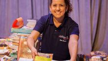 Elaine Messias coordenadora da Livraria do Bazar de Amor