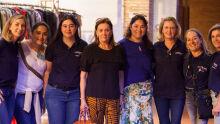 Cecília Zauith mantenedora da Unigran e realizadora da Unigran Decor ao lado de colaboradoras do  Bazar de Amor: Jaqueline, Jammy, Cristiane, Tânia, Lisiane, Tânia Pezzini e Maria do Socorro