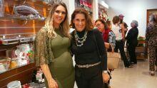 Claudia Carlesso e Elizabeth Salomão