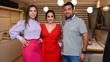 Ana, Marcela Sperotto e Michel