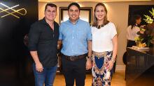 Cristiano Almeida, Ricardo Gonçalves Ferreira e Lisandra Ferachin