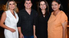 Evânia Ribeiro, Cristiano Almeida, Ely Oliveira e Eunice Dal Lago