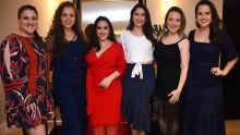 Gabriela, Priscilla, Marcela Sperotto, Priscila, Fabiane e Milena