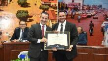 Diploma de Honra ao Mérito ao Dr. Alexandre Mantovani