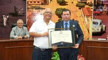 Diploma de Honra ao Mérito Legislativo à Cassius Vinicius Rodrigues de Morais