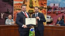 Diploma de Honra ao Mérito ao Dr. Fabiano Costa