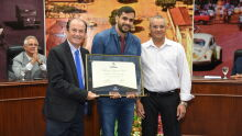 Diploma de Honra ao Mérito ao Dr. Luciano Primo da Silva
