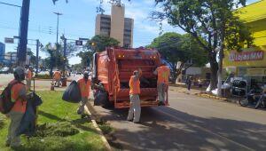TCE decidiu cancelar o serviço de limpeza urbana em Dourados