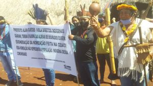 Lideranças repudiam nomeação de 'não-índio' em Coordenadoria de Assuntos Indígenas