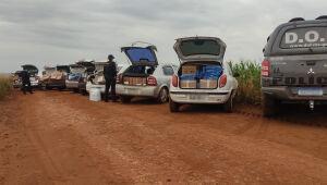 DOF apreende comboio de nove carros com mercadorias contrabandeadas