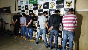 Defron deflagra operação 'Fronteira Segura' e prende seis