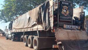 Defron apreende 825 kg de maconha em caminhão na BR-163