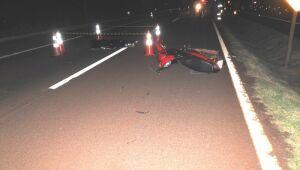 Motociclista morre após colidir contra capivara na BR-163 em Dourados