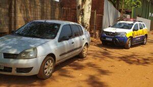 Veículo furtado em Dourados é recuperado pela Guarda Municipal