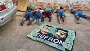 Sete são presos pelo Defron durante Operação 'Branca Pura'