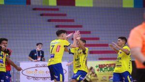 Apaefs empata pela Taça Brasil de Futsal Sub-17 e segue viva em busca da classificação