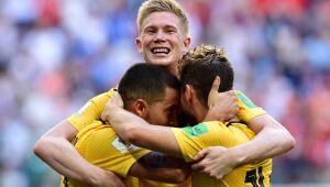 Belgica bate a Inglaterra e fica em terceiro lugar na Copa