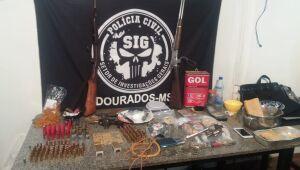 Operação fecha 'laboratório de drogas' a poucos metros de escola em Dourados