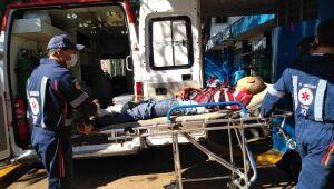 Jovem é encontrado com ferimentos de faca e espancamento em Dourados