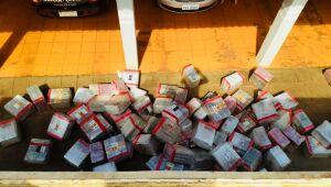 Com apoio do CIOPS de Dourados, PM de Caarapó aprende quase 2,5 toneladas de maconha