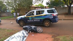 Jovem é executado a tiros enquanto seguia de moto pelo Jardim Piratininga