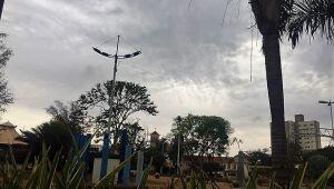 Nebulosidade e chuva isolada predominam em Mato Grosso do Sul