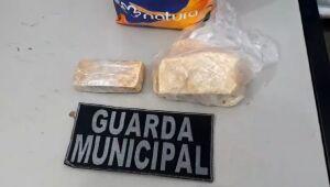Guarda Municipal prende homem com pedras de crack na rodoviária