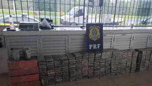 Apreensão de cocaína pela PF mais que dobrou em quatro anos
