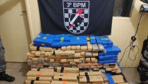 Polícia Militar apreende quase 6 toneladas de drogas na região de Dourados
