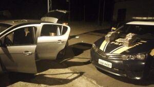 Motorista é preso pela PRF com 30 quilos de cocaína na BR-376