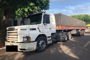 Em ação conjunta, Polícia Civil recupera carreta tomada em estelionato no estado de São Paulo